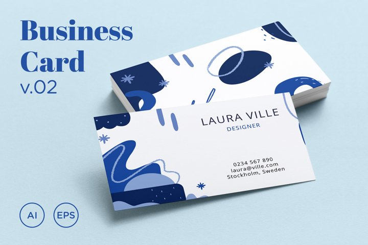 Business Card Template v02