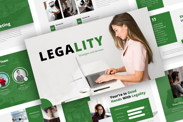 Legality Powerpoint Template