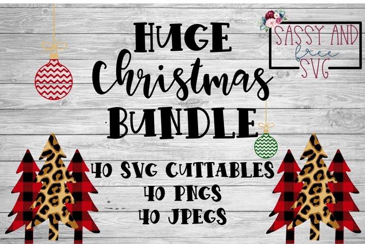 HUGE Christmas Design SVG Bundle