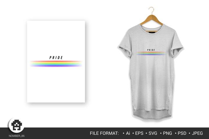 Rainbow svg \ LGBT T-shirt \ LGBT print.