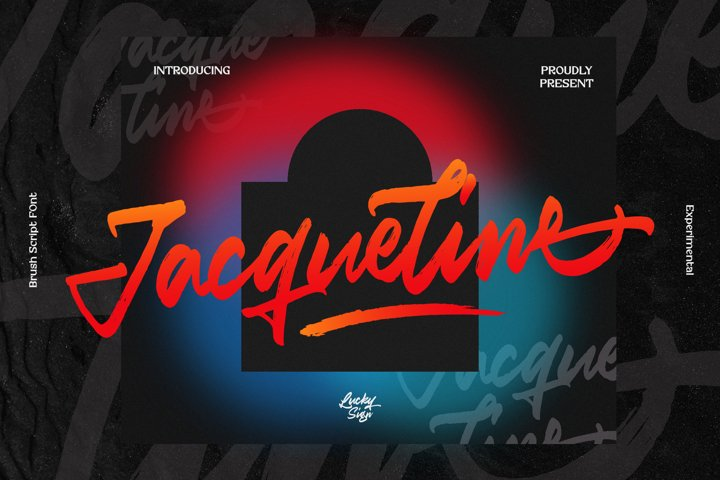 Jacqueline Brush Urban Font