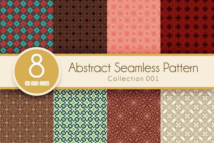Abstract Seamless Pattern Collection 001