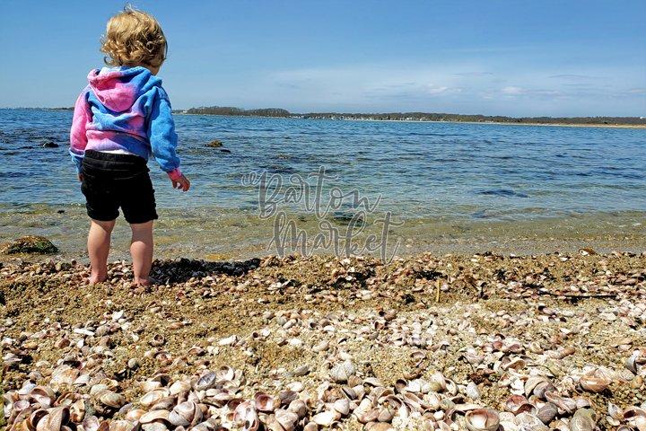 Stock Photo - Toddler on Beach