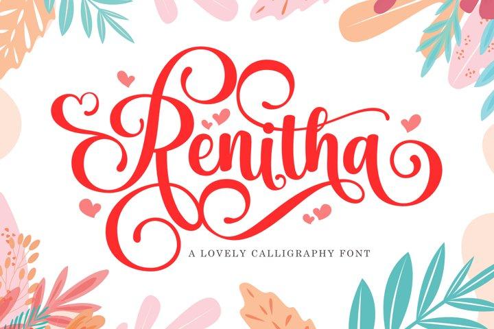 Renitha Script