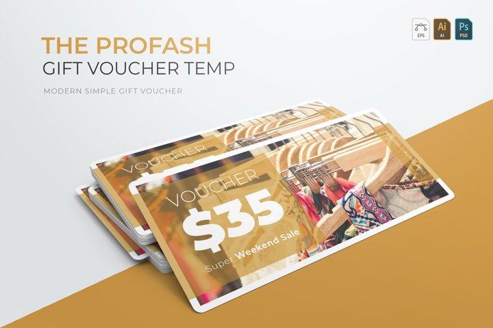 Profash | Gift Voucher