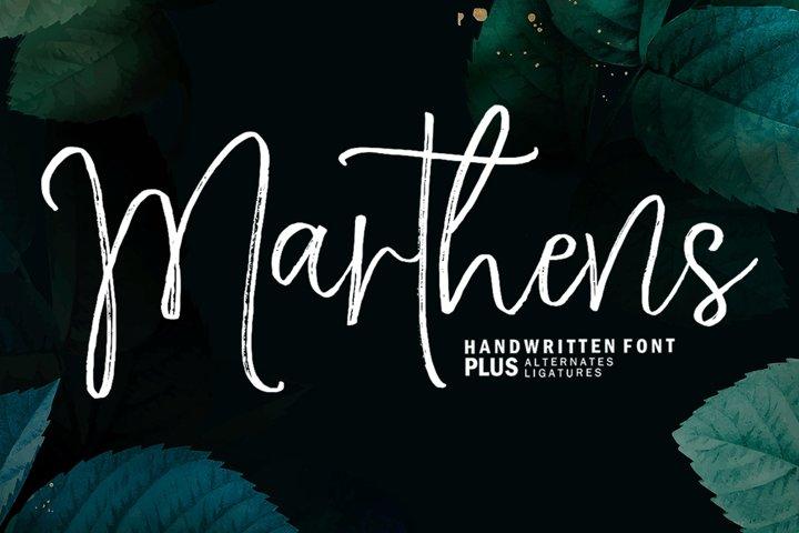 Marthens Script
