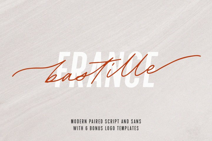 Bastille Modern Font Duo