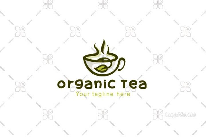 Organic Tea - Natural Drink Logo Design