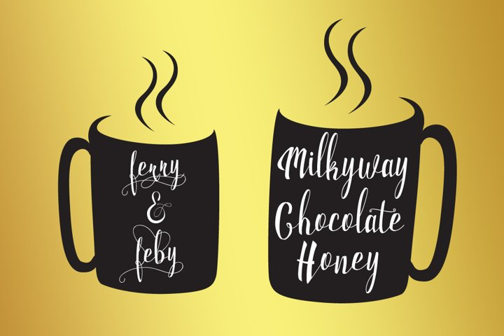 Milkytwins Modern Wave Calligraphy - Free Font of The Week Design2