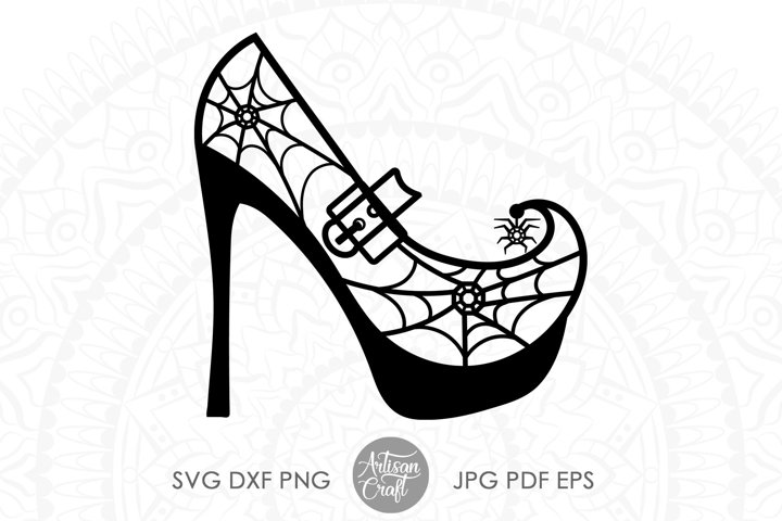High heel clipart, Halloween svg, Cut file, witch shoes