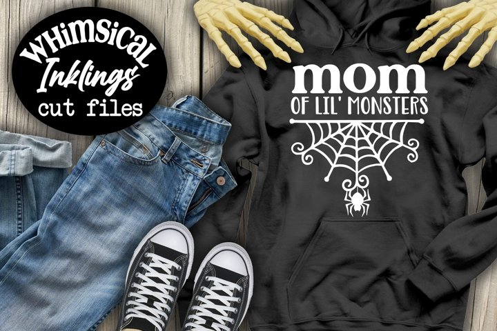 Mom Of Lil Monsters SVG-Halloween SVG