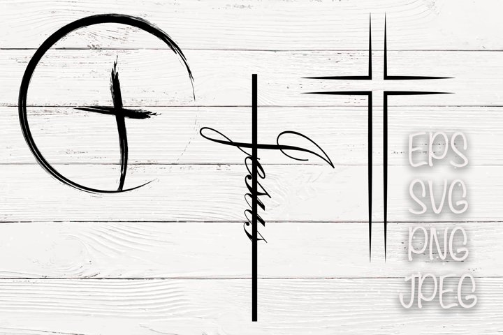 Sublimation Cross SVG