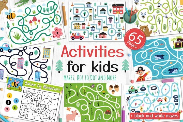 65 in 1 Activities for Kids