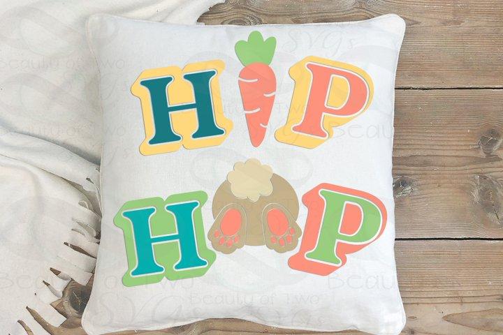 Easter Hip Hop Retro svg, Easter Bunny svg, Farmhouse Easter