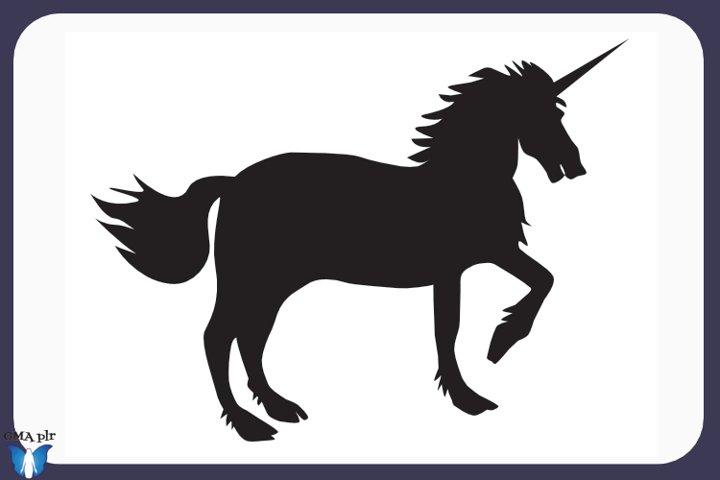 Unicorn Silhouette- Graphics