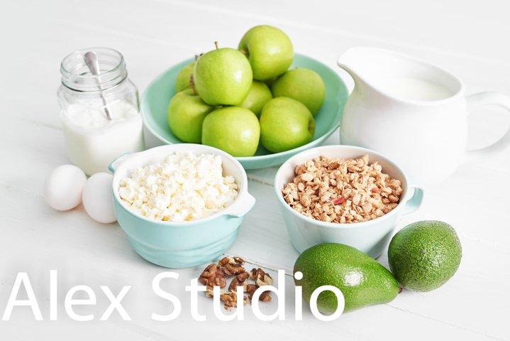 Healthy eating and food, dieting, vegetarian
