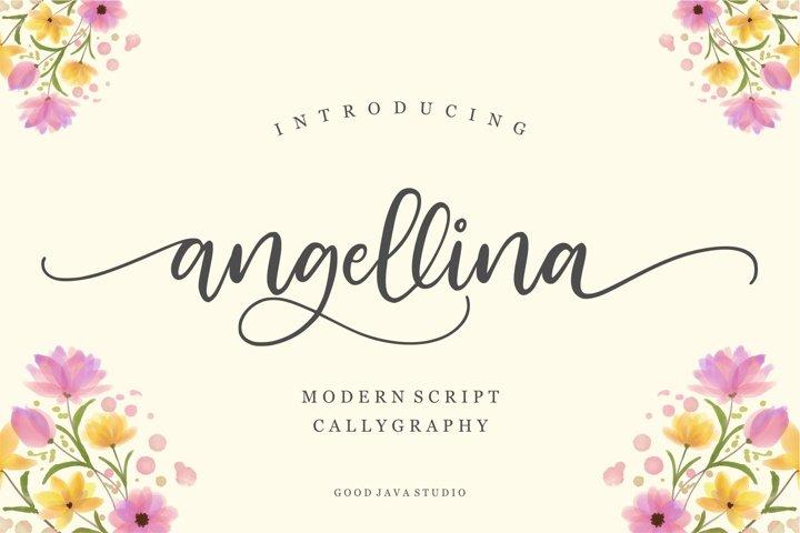 Angellina - Modern Script