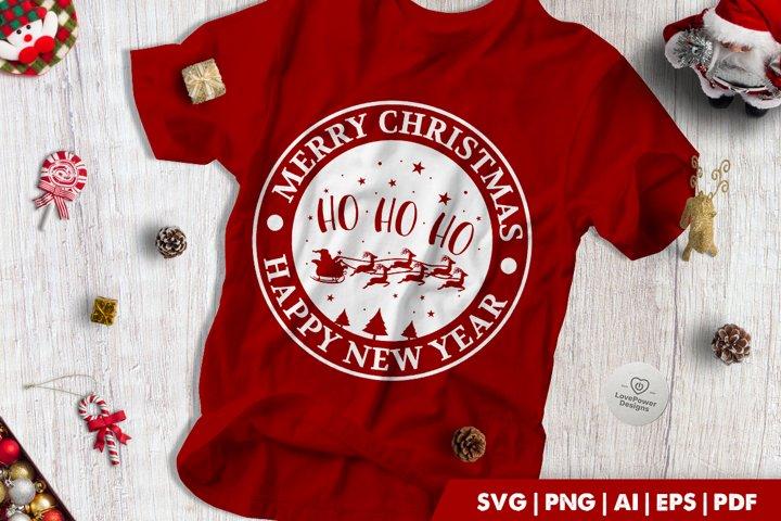 Christmas SVG | Merry Christmas | Ho Ho Ho | Happy New Year