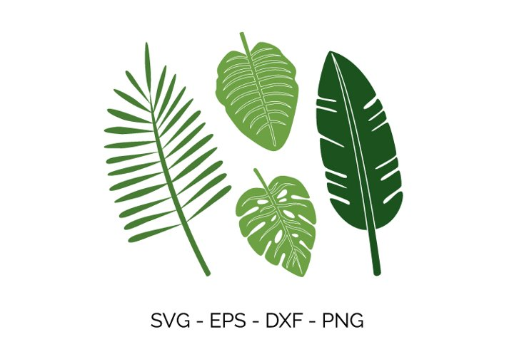 summer leaves svg