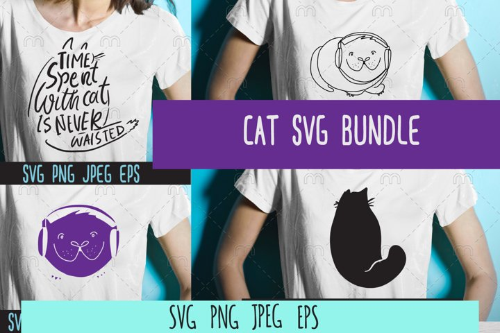 Cat SVG bundle