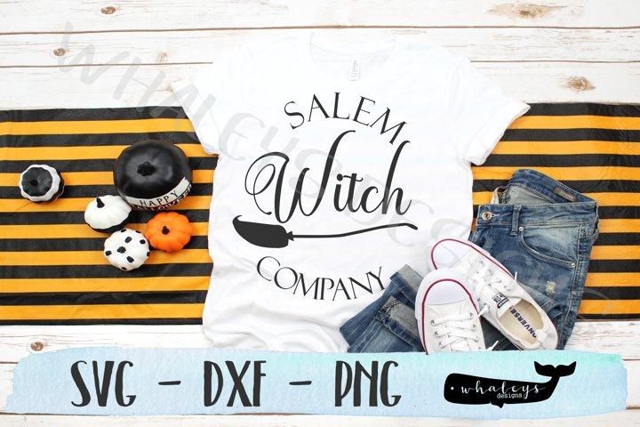 Salem Witch Company, Halloween SVG