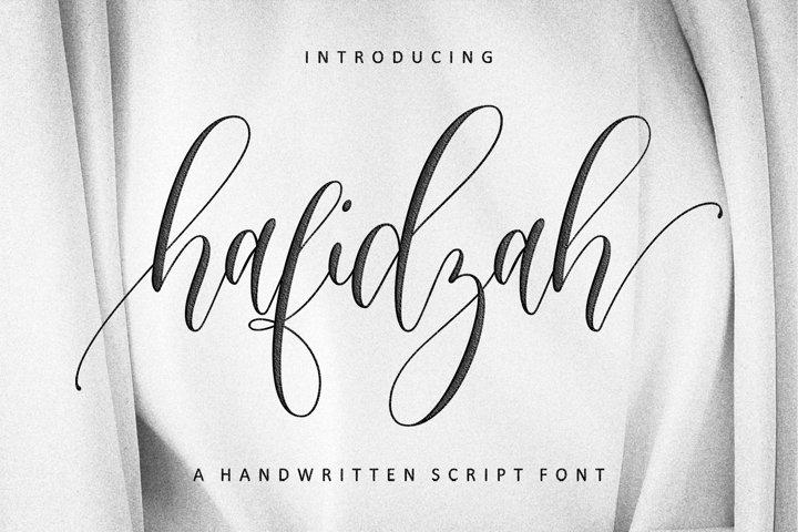 Hafidzah | Handwritten Font