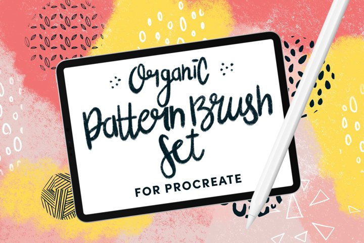 Organic Pattern Brush Set