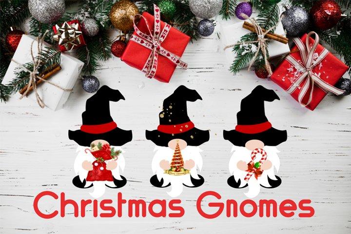 Christmas Gnomes SVG Cut Files, Gnomes PNG, Christmas Gnome