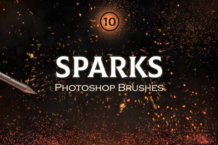 Sparks Photoshop Brushes