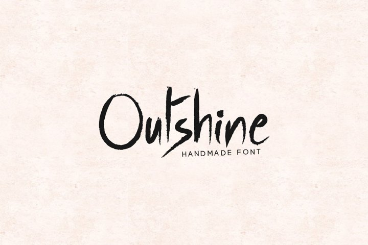 Outshine - Luxury / Handwritten Font