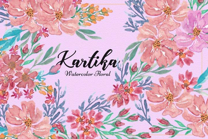Kartika Watercolor Floral