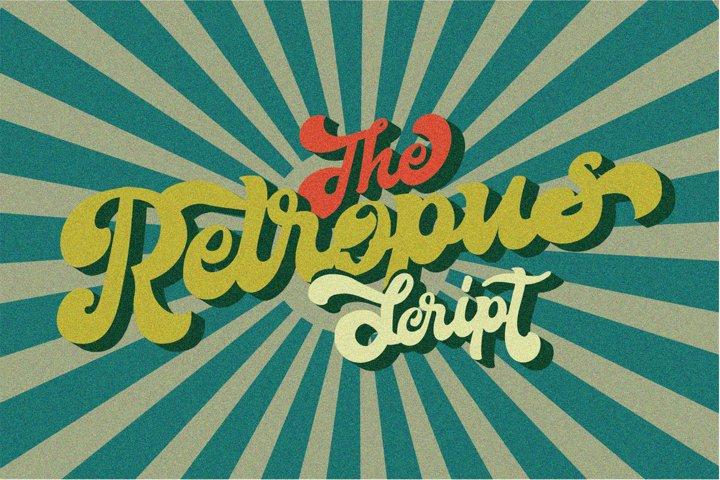 The Retropus Font