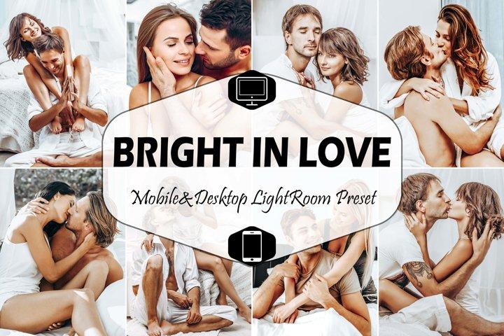 10 Bright In Love Mobile Lightroom Presets LR Desktop Preset