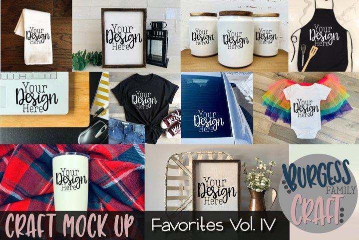 Favorites Vol. IV | Craft mock up Bundle