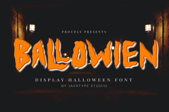Ballowien - Display Font