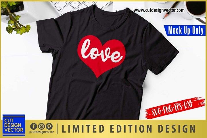 Love Heart SVG, Valentines SVG, Valentines