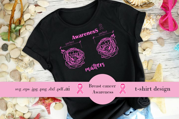 Breast Cancer Awareness t-shirt design SVG EPS PNG PDF JPG