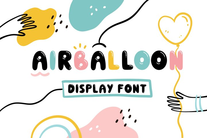 Airballoon Display Font
