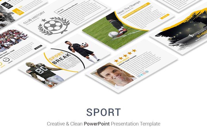 Sport PowerPoint Presentation Template