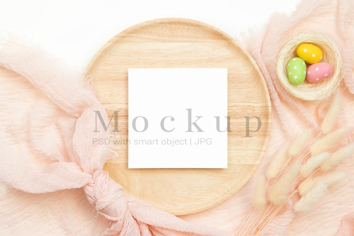 Table Number Mockup,Holiday Mockup,5x5 Card Mockup