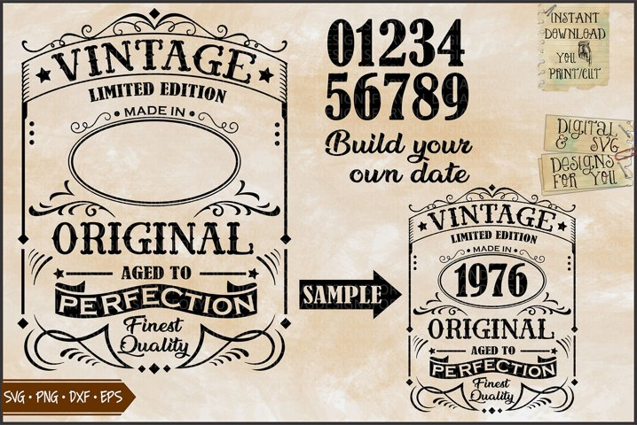 Vintage birthday | Limited Edition | Birthday original