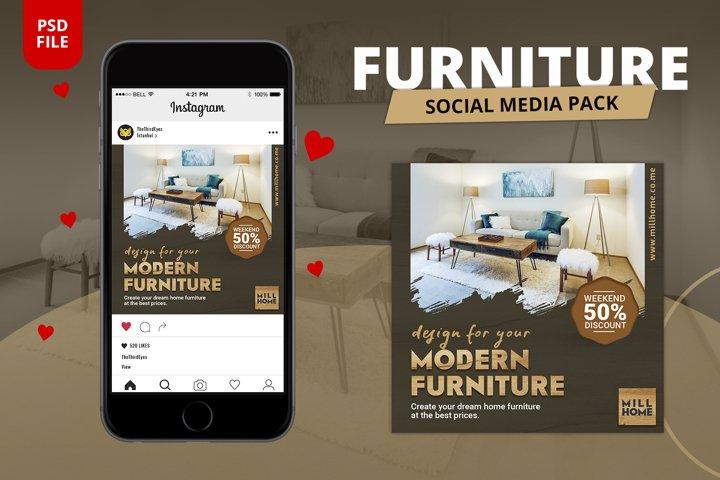 Furniture Social Media Pack