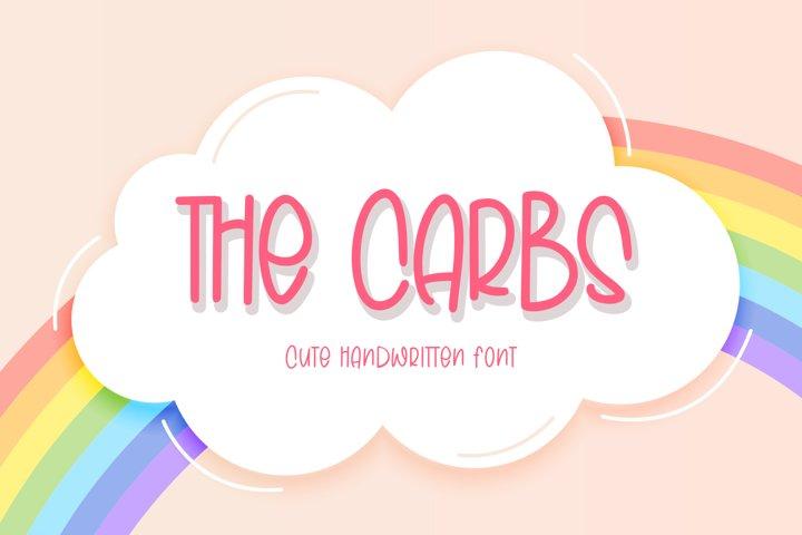 The Carbs Cute Handwritten Font