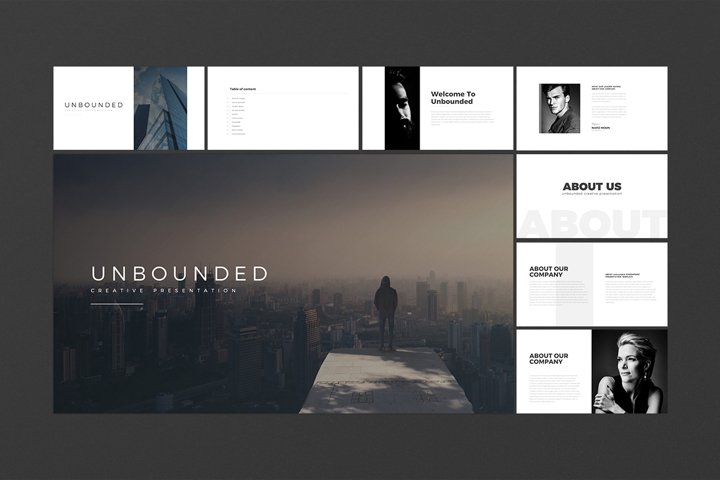 Unbounded PowerPoint Template