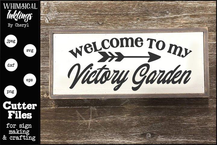 Victory Garden SVG