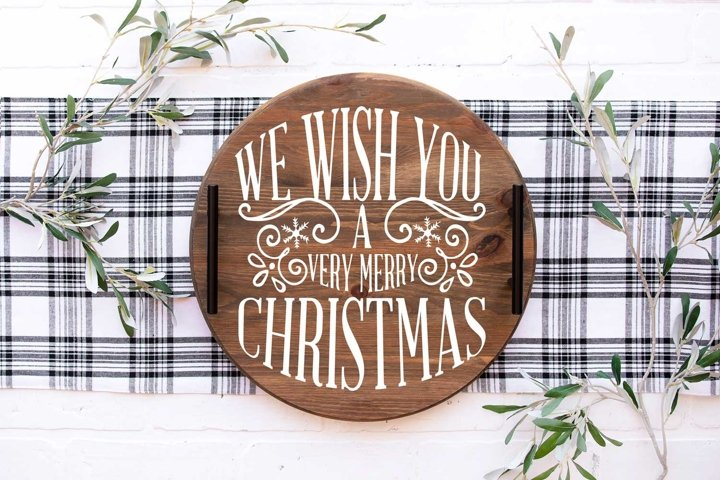 Christmas SVG |We wish you a very Merry Christmas svg cut fi