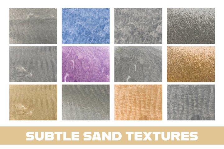 Subtle Sand Texture Backgrounds