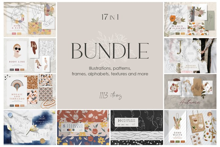 BUNDLE 17 in 1