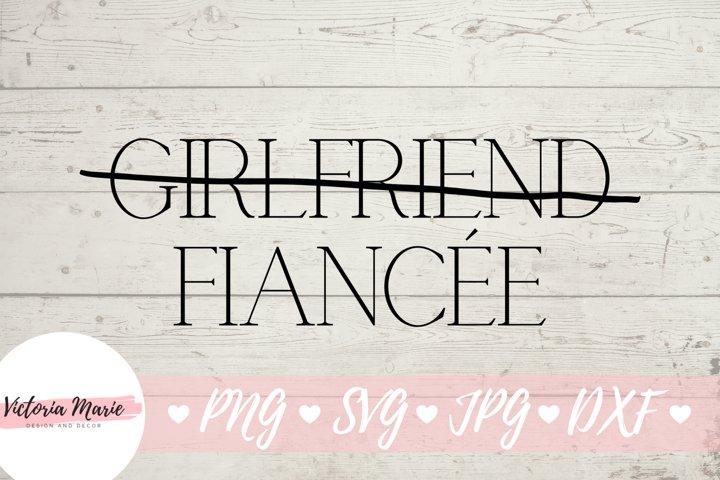 Fiancee svg, Fiance svg, Engaged Couple Shirt Design