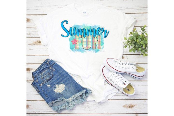 Summer Fun PNG Sublimation Design